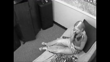 Girl with Huge Tits Caught on Security Cam