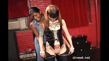 Husband and mistress double team wife