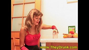 Really dirty young beautiful girl drinking piss and licking toilet