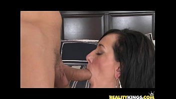 POVPerverts - Alia Janine is a Huge Titted Cock Whore